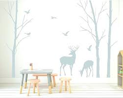 wall sticker target birch tree wall decal deer wall decals tree nursery wall art woodland nursery wall sticker target tree wall decal