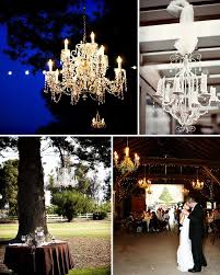 chandelier wedding