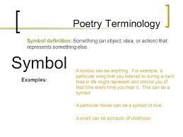 symbol for poetry view symbol