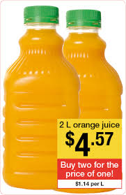 Example Of Unit Price Grocery Unit Prices Accc