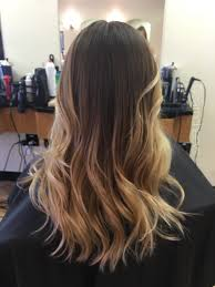 Brunette Ombre With Blonde Balayage Ombre
