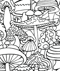 Enjoyable Design Free Printable Trippy Coloring Pages Large Size Of