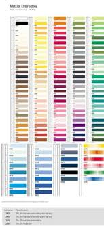 8 Best Thread Colors Images Machine Embroidery Thread