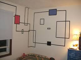 How To Create Wall Art With Electrical Tape: 6 Steps (With Pictures) For