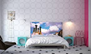 cool bedroom wall designs. Full Size Of Bedroom:40 Surprising Cute Bedroom Ideas Circle Motif Wall Cool Designs