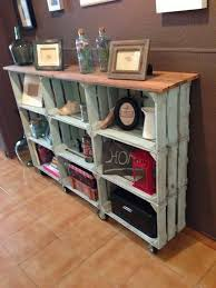 wood crate furniture diy. Wood Crate Furniture. Diy Vintage Console Table Furniture