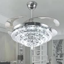 fan with crystal light led crystal chandelier fan lights invisible fan crystal lights have to do