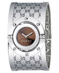 gucci watches for women. gucci women\u0027s twirl collection stainless steel bangle bracelet watch 23mm ya112401 watches for women