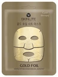 <b>Skinlite</b> Тканевая <b>маска</b> Gold Foil <b>фольгированная</b> Золото ...