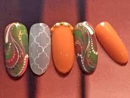 秋ネイルはアースカラーがトレンド秋ネイル3パターン コラム 緑のgoo