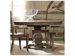 furniture sorella taupe 54 wide round dining table 5107 75203