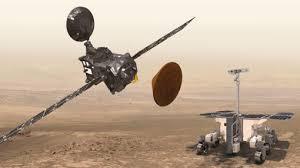 Resultado de imagen de Schiaparelli se estrella en Marte