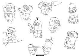 Small Picture adult minion colouring page free empty minion colouring page