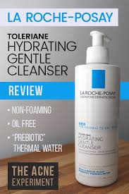la roche posay hydrating cleanser page