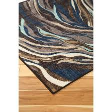 blue and brown rugs signature design by contemporary area blue brown medium rug