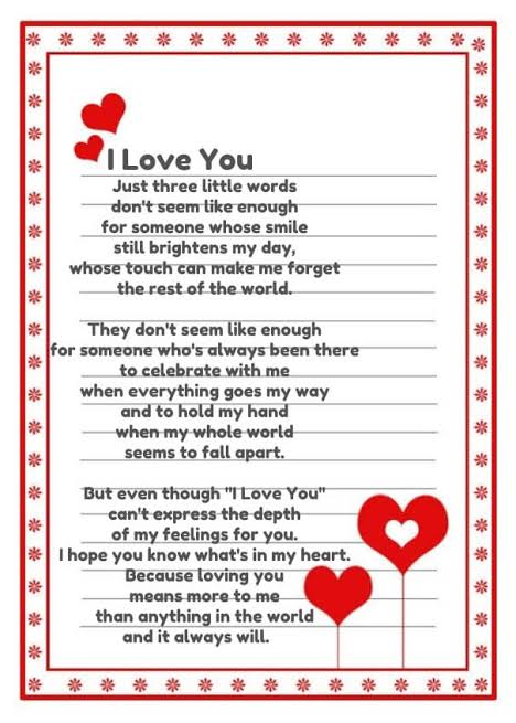 love poems for your girlfriend that will make him cry