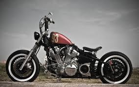 bobber motorcycle photo