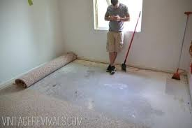 best way to remove adhesive from concrete removing carpet tile adhesive from concrete floor how to