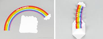 How To Make Printable Invitations Surprise Rainbow Party Invitation Mr Printables