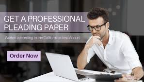 California Rules Of Court Pleading Format Professional Typist