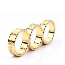 1 Pcs Gold PK Ring Lettering Magic Tricks Magnetic Ring 18mm/19mm/20mm  Golden Strong Magnetic Magic Ring Magnet Finger magic | Mirage Novelty World