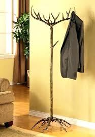 rustic coat tree rustic coat hanger antler coat hat rack tree stand metal rustic deer buck