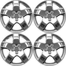 Design silver abs chrome like 15 inch hub caps set of 4