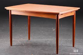dining room remarkable round teak dining table danish two leaves at 1stdibs in from luxurious