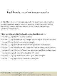 Beauty Consultant Resume Top224beautyconsultantresumesamples15033122175224conversiongate224thumbnail24jpgcb=1242722452243224 12