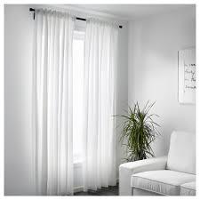 1 Pair IKEA White Curtains VIVAN Bedroom Living Room Window Blinds ...