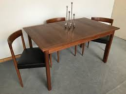 mid century modern dining room set chair fresh 6 teak dining chairs erik buch danish modern