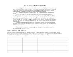 Life Plan Template Example 5 Year Excel – Meetwithlisa.info