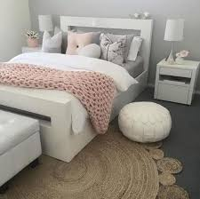 pink gold and white room decor