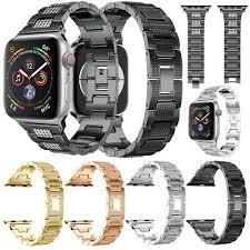 <b>Luxury</b> Alloy Solid <b>Crystal Watch Band</b> Wrist Strap For Apple Watch ...