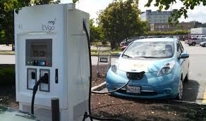 Fast Charging Kiosks For Electric Cars Open At Five Hannaford
