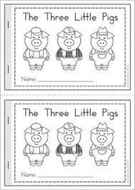 the three little pigs mega fun 117 pages a page from the unit front cover for the mini book children will have lots of fun ordering the pages in this