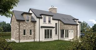 new home design self build gentlemans residence at comber