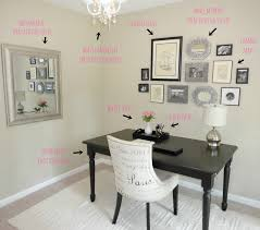 ways to decorate your room home decor other design white chair also black desk office with pictures at simple cool 15