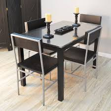 Metal Top Dining Tables Carolina Morgan Stainless Steel Top Dining Table Dining Tables