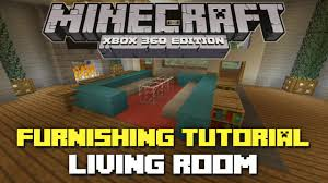 Minecraft Living Room Designs Minecraft Xbox 360 House Furnishing Tutorial Episode 3 Living