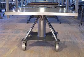 industrial steel furniture. Industrial Steel Die Table Get Back Inc Furniture U