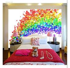Rainbow Bedroom Rainbow Color Home Decor ...