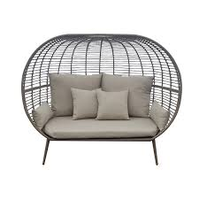 henryka patio loveseat with cushions