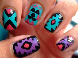 Tribal Print Nail Art Pictures, Photos, and Images for Facebook ...