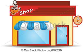 coffee shop building clipart. Perfect Clipart Coffee Shop Building Clipart In L