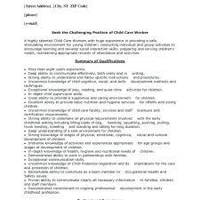 sample of nanny resume