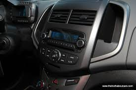 2012 Chevy Sonic LTZ Turbo Interior, radio, Picture courtesy of ...