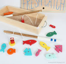 Homemade Wooden Games Ana White Wood Toy Fishing Game DIY Projects 37