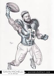 Odell Beckham Jr Coloring Pictures Coloring 365
