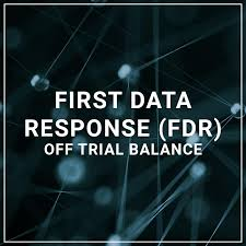 first data response fdr off trial balance